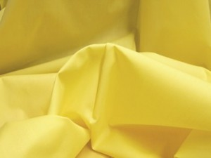 Broadcloth Fabric - Polyester-Cotton Blend - Yellow