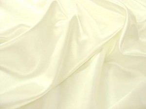 Wholesale Crepe Back Satin ivory, 17 yds