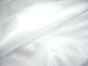 "Wholesale China Silk Lining 60"" - White 25 yards"
