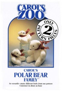 Carol's Zoo - Polar Bear Family