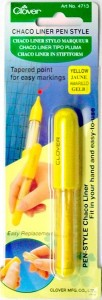 Clover Chaco Liner Pen 4713-Yellow