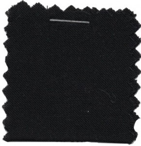 Rayon Challis Solid Fabric - Black