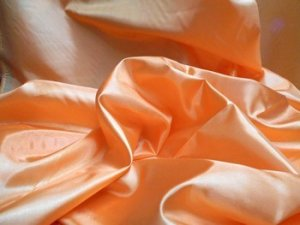 China Silk Lining- Orange - 60""