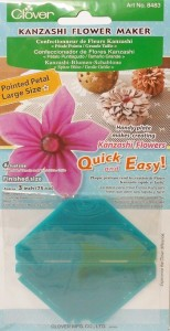 Clover Kanzashi Flower Maker #8483 - Pointed Petal-Large Size 3""