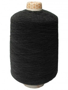 Wholesale Elastic Cone Thread - Black - 1.5 lbs