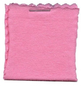 Cotton Jersey Knit Fabric - Light Pink
