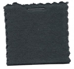 Cotton Jersey Knit Fabric - Charcoal