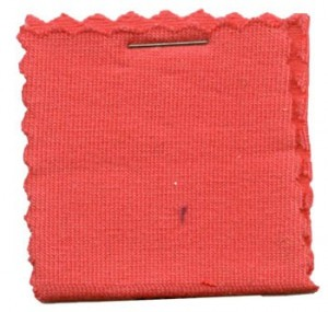 Cotton Jersey Knit Fabric - Coral