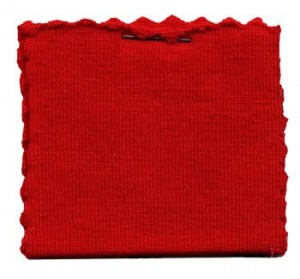 Cotton Jersey Knit Fabric - Red