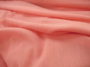 Cotton Gauze Fabric - Coral #432