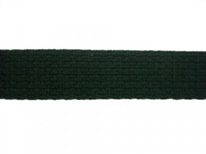 Cotton Webbing-Black 1""