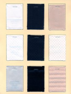 Color Card - Coutil Corseting Fabrics