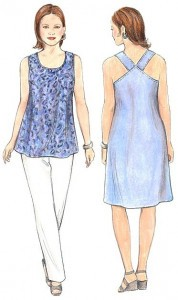 Dana Marie Sewing Pattern #1049 - A Little Something Xtra