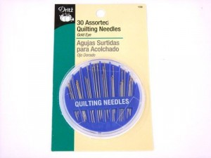 Dritz 156 - Compact of Assorted Quilting Needles