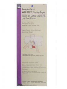 Dritz- Double-Faced Wax Free Tracing Paper
