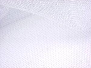 English Net - White Netting Fabric