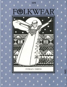Folkwear #105 Syrian Dress