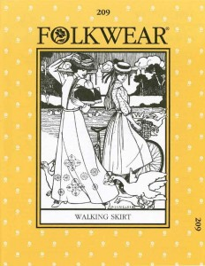 Folkwear #209 Walking Skirt