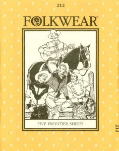 Folkwear #212 Five Frontier Shirts