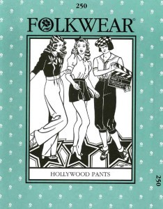 Folkwear #250 Hollywood Pants Sewing Pattern