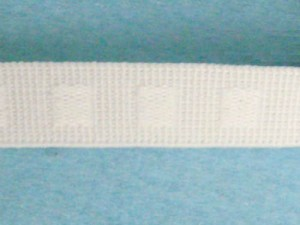 "Wholesale Flat Woven Non Roll Elastic WE-5 - White 1/2"" - 144 yard spool"