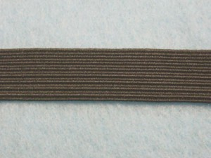 "Wholesale Flat Braided Elastic 1040 - Black 1/2"" - 144 yards ***Temporarily out of stock***"