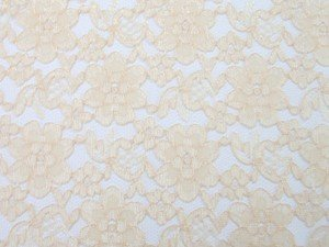 Wholesale Floral Lace - Gold, 25 yards