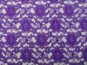 Floral Lace - Purple