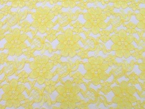 Floral Lace - Yellow