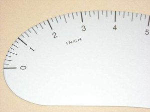 Lance French Curve Ruler 24""