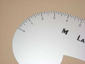 Lance French Curve Ruler 12""