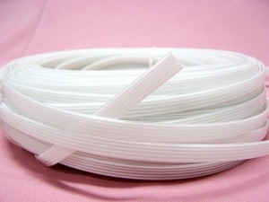 Boning Coils - German Plastic 7mm wide - 100 meters