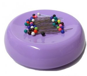 GrabbIt Magnetic Pin Cushion - Lavender