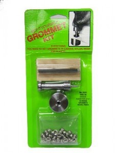 Grommet Kit - Nickle, size 00