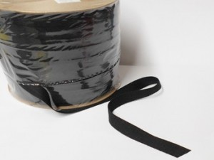 "Wholesale Twill Tape *Heavy* - 3/4"" Black - 288 yds   ***Limited Quantity***"