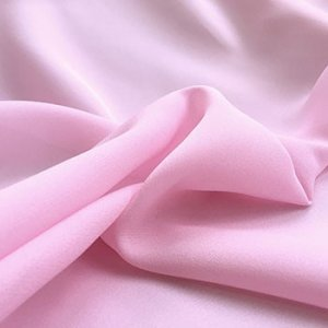 Wholesale Polyester Georgette Solid - Rose Pink - 25 yard bolt