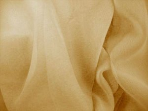 Wholesale Iridescent Polyester Chiffon - Gold #226, 17 yards