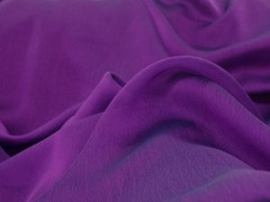 Iridescent Polyester Chiffon - Flag Purple #1039