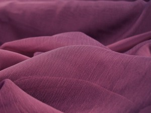 Wholesale Iridescent Polyester Chiffon - Magenta #535, 17 yards
