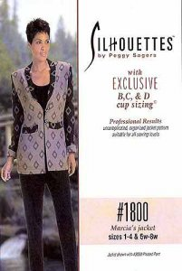 Silhouette Patterns #1800 Marcia's Jacket