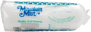 Mountain Mist Polyester Batting - Queen Size