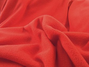 Wholesale Anti Pill Polar Fleece - Red - 12 yds
