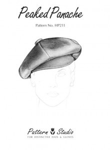 Pattern Studio HP211 Peaked Panache Hat Pattern
