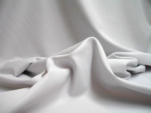 Wholesale Pongee Plush Anti-Static Lining - Silver - 25 Yards