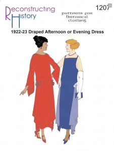 Reconstructing History Pattern #1207 1922-23 Draped Afternoon or Evening Dress