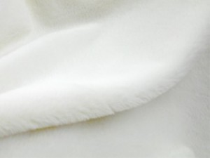 Luxury Faux Fur Fabric - Rabbit - Ivory