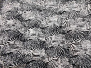 Luxury Faux Fur Fabric - Racoon