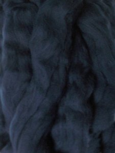 Merino Wool Roving - Midnight Blue