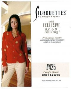 Silhouette Patterns #425 Craig's Blouse