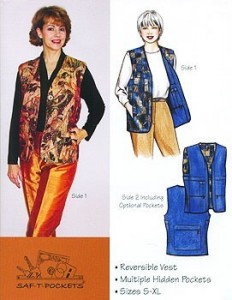 SAF-T-POCKETS Travelwear #9500, Shopper's Vest